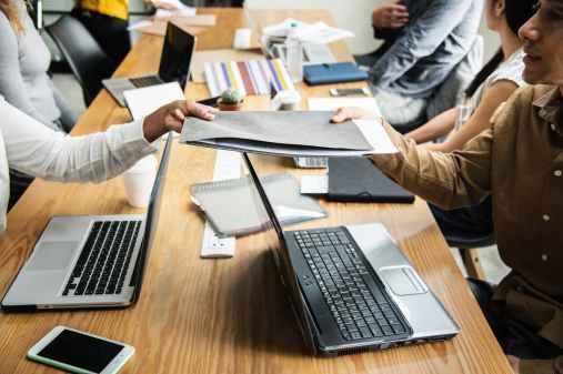 advice business colleagues communication